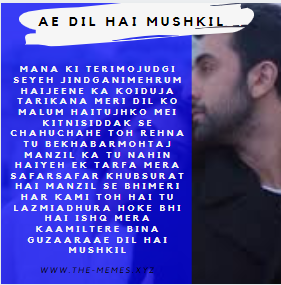 Ae Dil Hai Mushkil-Sad Dialogues Whatsapp Status 2020