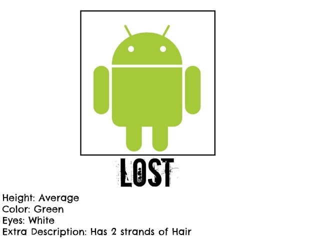 Android phone lost