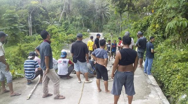 Berkali-kali Rusak, Warga Desa Tiga Serangkai Gotong-royong