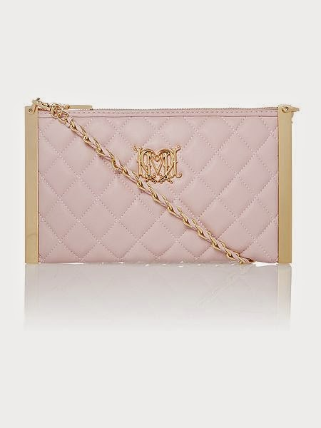 Love Moschino Pale Pink Small Clutch