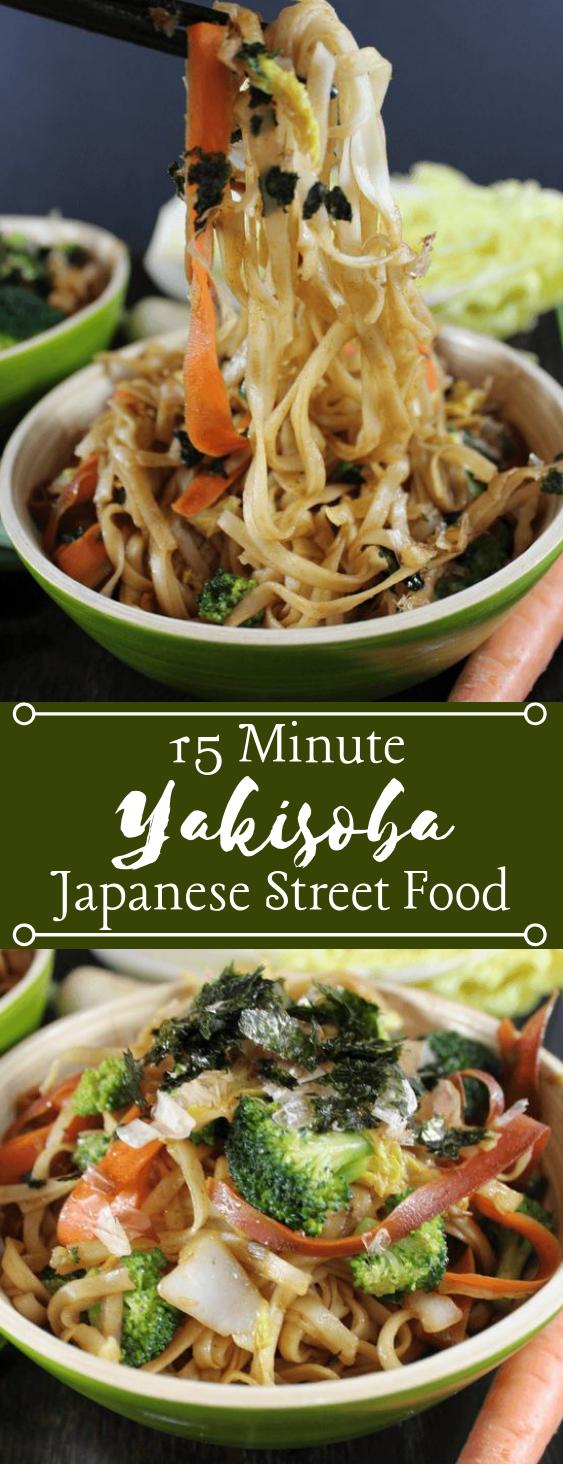 15 MINUTE YAKISOBA #vegetarian #healthydinner #lunch #recipes #paleo