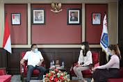 Gubernur dan PT. Garuda Indonesia Bahas Kelanjutan Eksport ke Jepang
