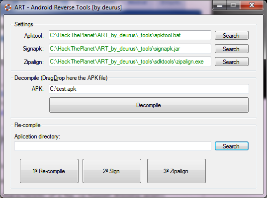 android cracking: android reverse tools - ART
