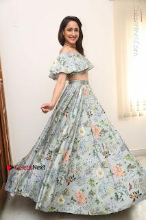 Actress Pragya Jaiswal Stills in Floral Dress at turodu Interview  0207.JPG