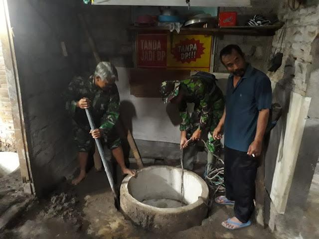 Ini Ungkapan Warga Jimbung Yang Dibuatkan Jamban Oleh TNI