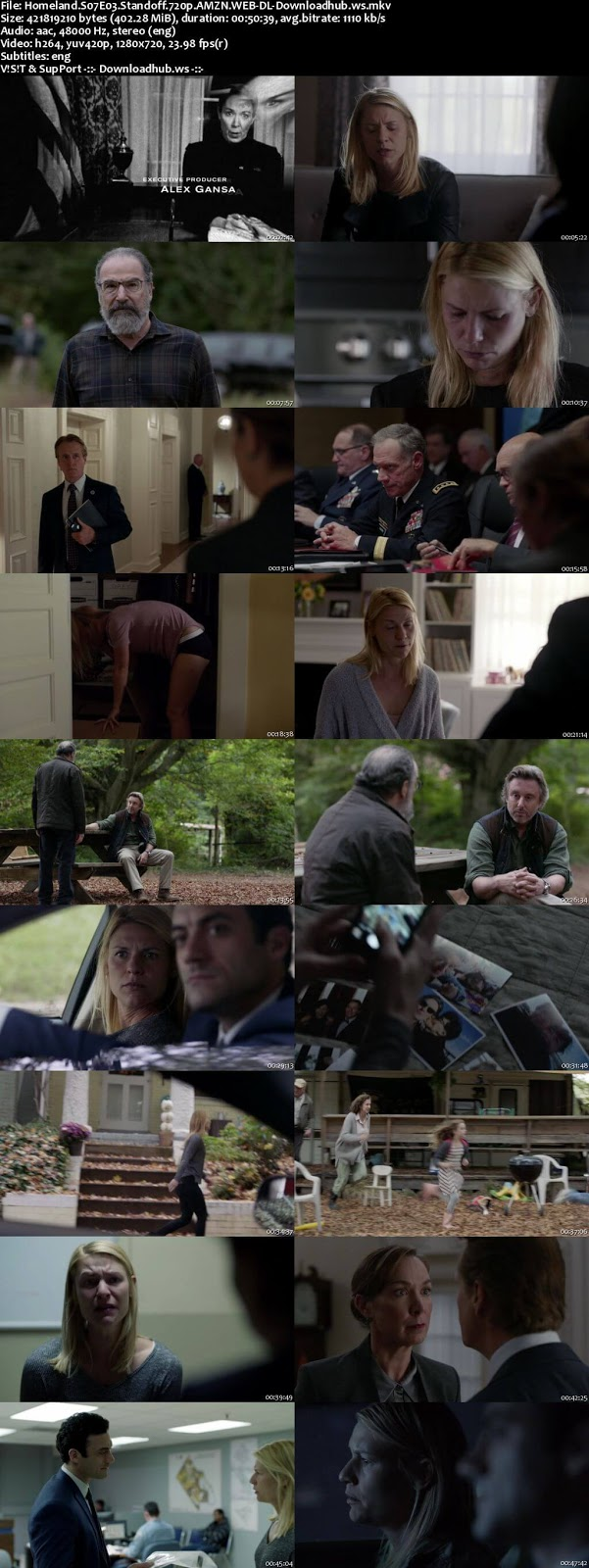 Homeland S07E03 400MB WEB-DL 720p ESubs
