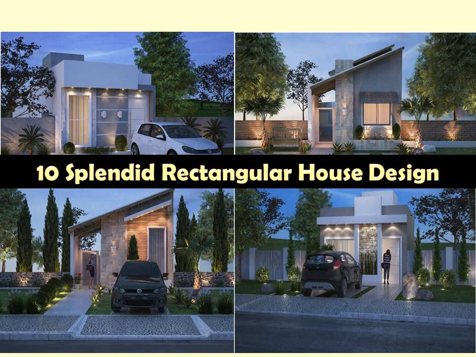These house plans are not just your average small house ideas. Maybe facade can look small but these houses are designed to be built rectangularly.   So if you have a lot with a little access on the main road, this design is the best option.The designs are taken from plantapronta.com.