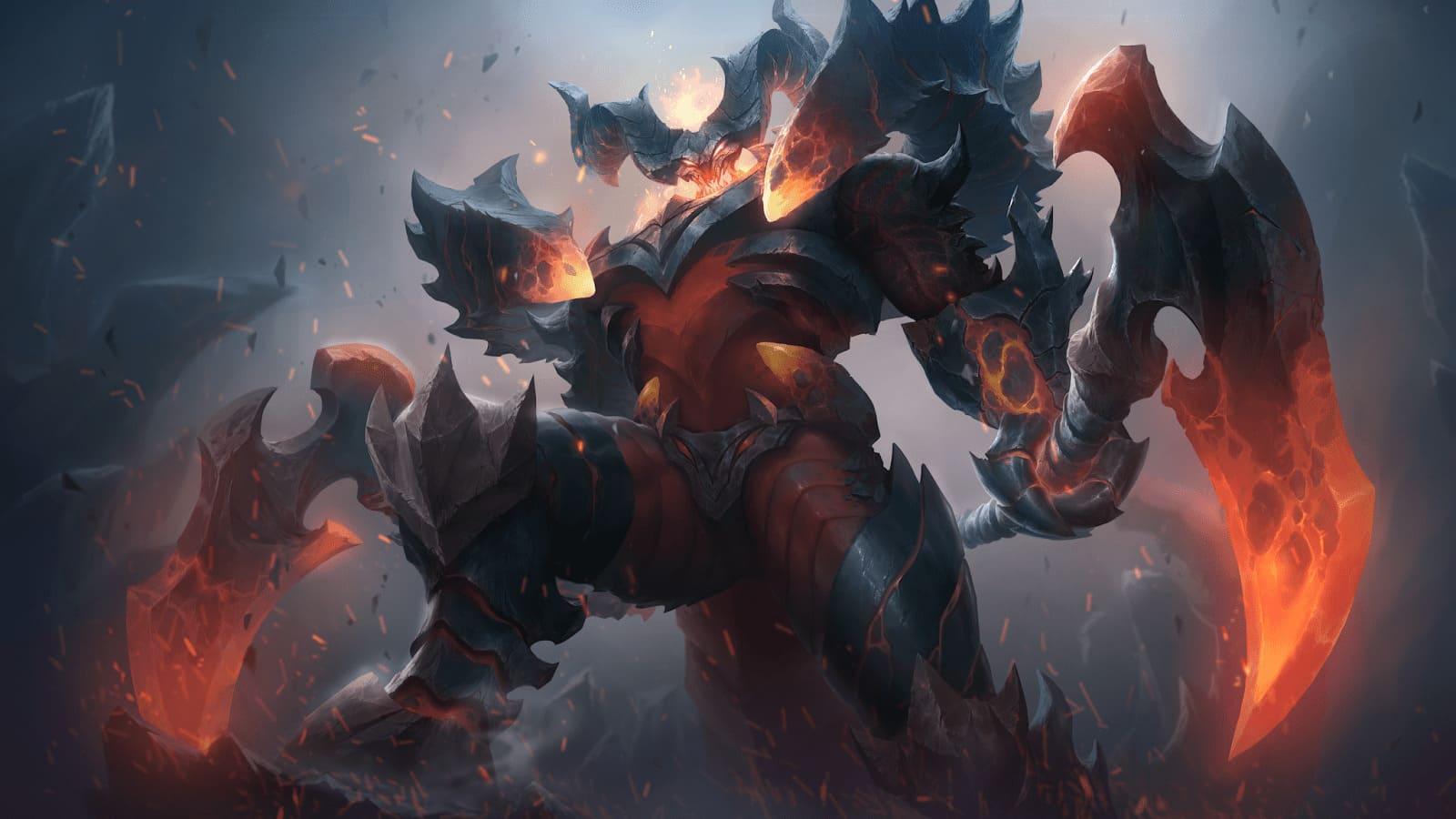 Wallpaper Thamuz Lord Lava Skin Mobile Legends HD for PC