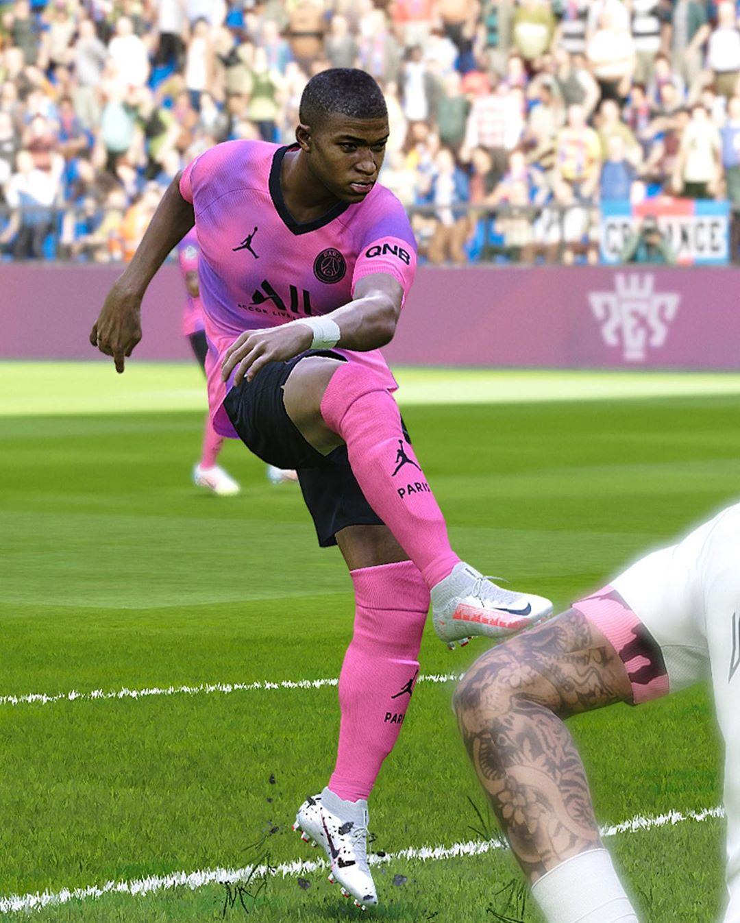 Jordan Paris Saint-Germain 2021 Concept Fourth Kit - Footy ...