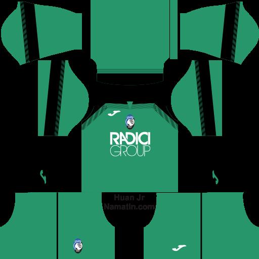 Logo & Kit DLS Atalanta B.C 2020-2021 ~ Namatin