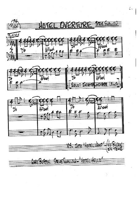 Partitura Violonchelo Steve Swallow