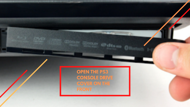 How to change or cleaning the PS3 hard drive
