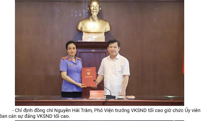 Con đường thăng tiến của Phó Viện trưởng Viện KSNDTC Nguyễn Hải Trâm