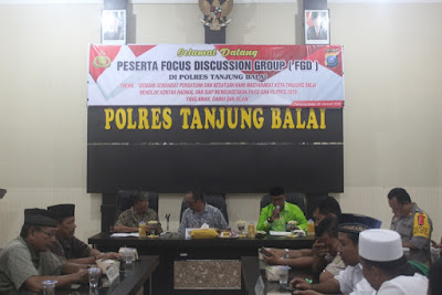 Kakankemenag Tanjungbalai Jadi Narasumber Focus Group Discussion