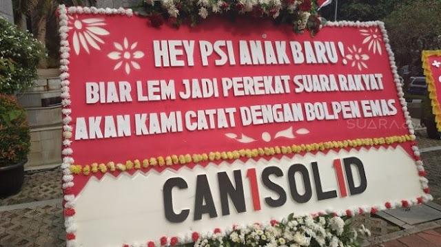 Sebut Karangan Bunga untuk William PSI Palsu, Politisi Demokrat: Kayak Ahok