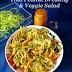 Thai Peanut Dressing(Sauce) - A Perfect Starter! | Salad Dressing | Thai Peanut Veggie Salad