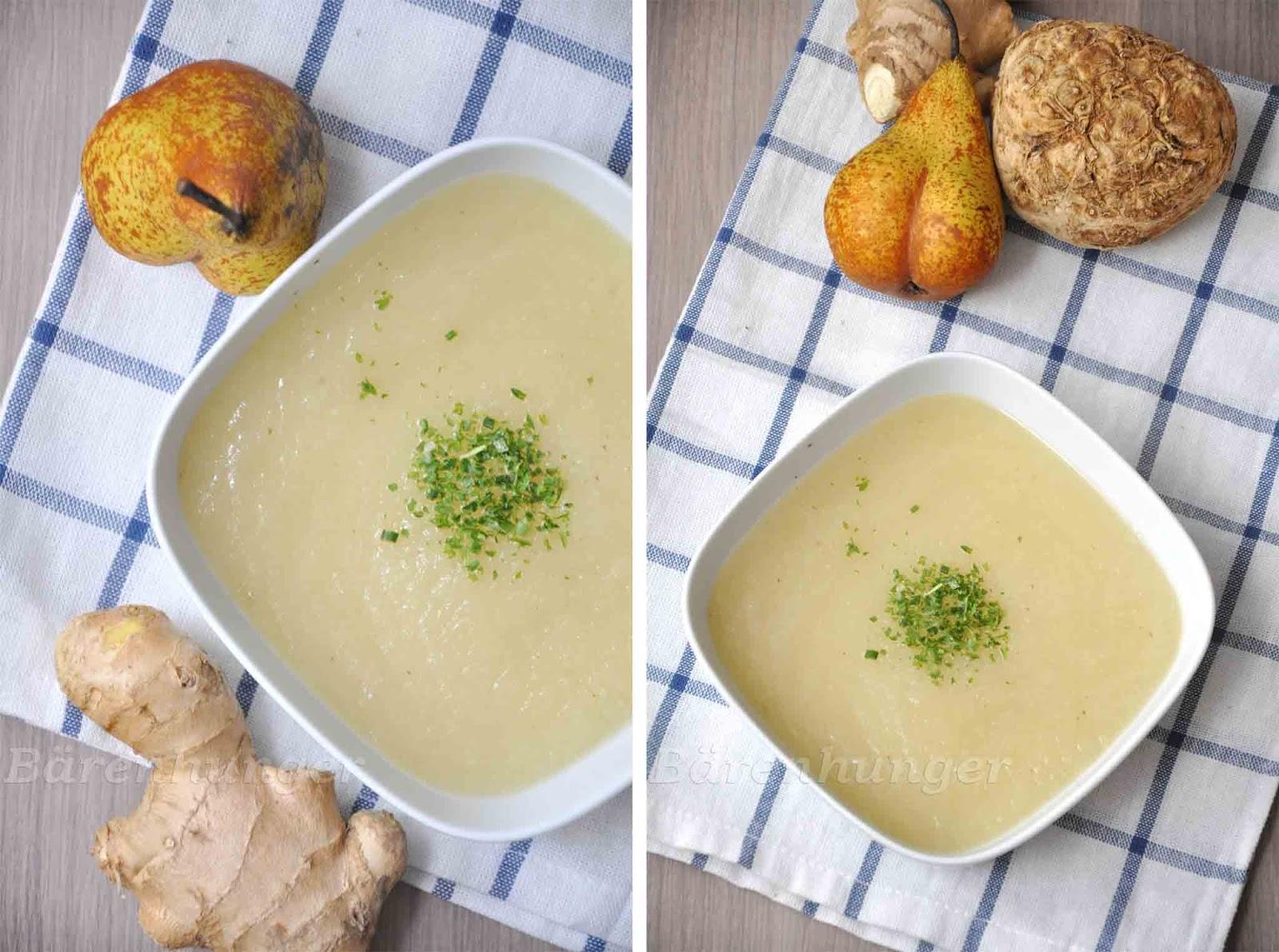 birnensuppe mit milch