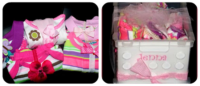 Baby Girl Gift Ideas: Creative Baby Shower Gift Wrapping Idea By Somewhat Simple