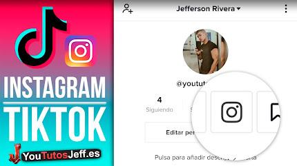 Como Poner mi Instagram en TikTok