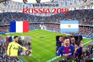 France vs Argentina FIFA World Cup 2018 |  An Exciting Football Match for football fans
