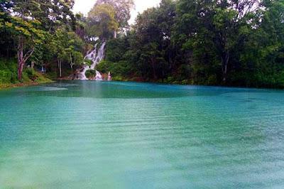 danau biru rerebe di aceh