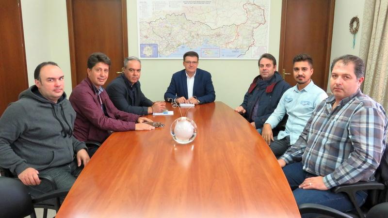 Συνάντηση αντιπροσωπείας της Ένωσης Αστυνομικών Υπαλλήλων Αλεξανδρούπολης με τον Αντιπεριφερειάρχη Έβρου