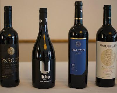Vinhos israelenses de grande qualidade