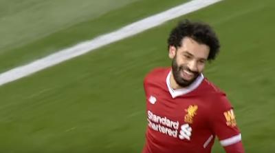 صلاح يشكر لاعبى ليفربول بعد فوزه بجائزة لاعب الشهر