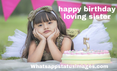 Happy Birthday Wishes Images sister
