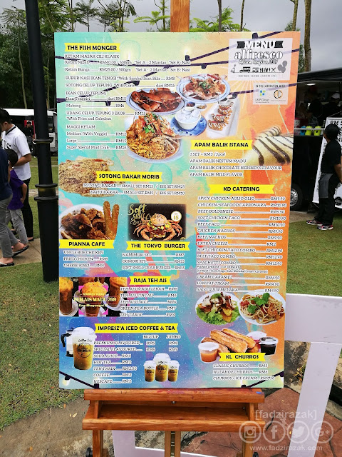 Seafood Alfresco Alam Impian 2017