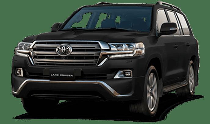 Toyota Land Cruiser Black