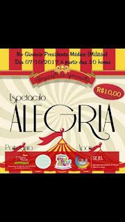 PAMPA GAÚCHO: Espetáculo Circense em Bagé (07/10)