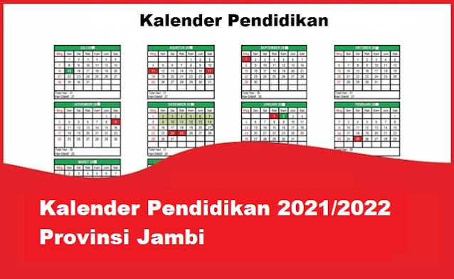 kalender pendidikan jambi