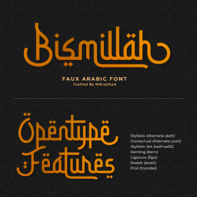 Download Font Nuansa Islamic dan Ramadhan Gratis