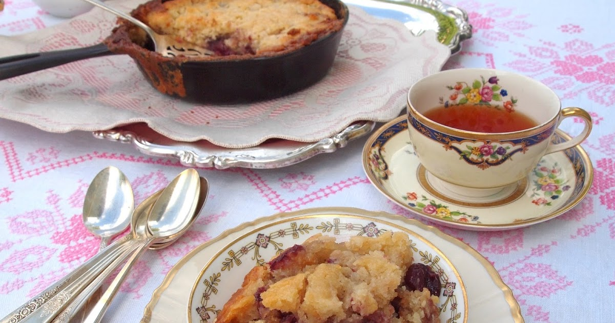 Fresh Cherry Cobbler Recipe With Cake Mix