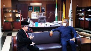 Dubes RI Abuja dan Menlu Nigeria Tingkatkan Kerjasama Bilateral Antar Dua Negara