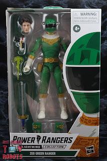 Power Rangers Lightning Collection Zeo Green Ranger Box 01