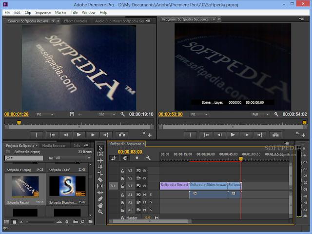 تحميل برنامج ادوبي بريمير CS5 للمونتاج Adobe Premiere Pro CC 2015.2 9.2.0 Build 41
