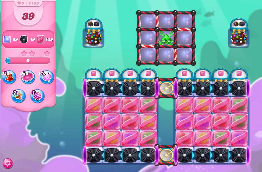 Candy Crush Saga level 9153