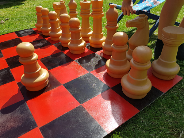 Creating a chessboard with PintyPlus paint