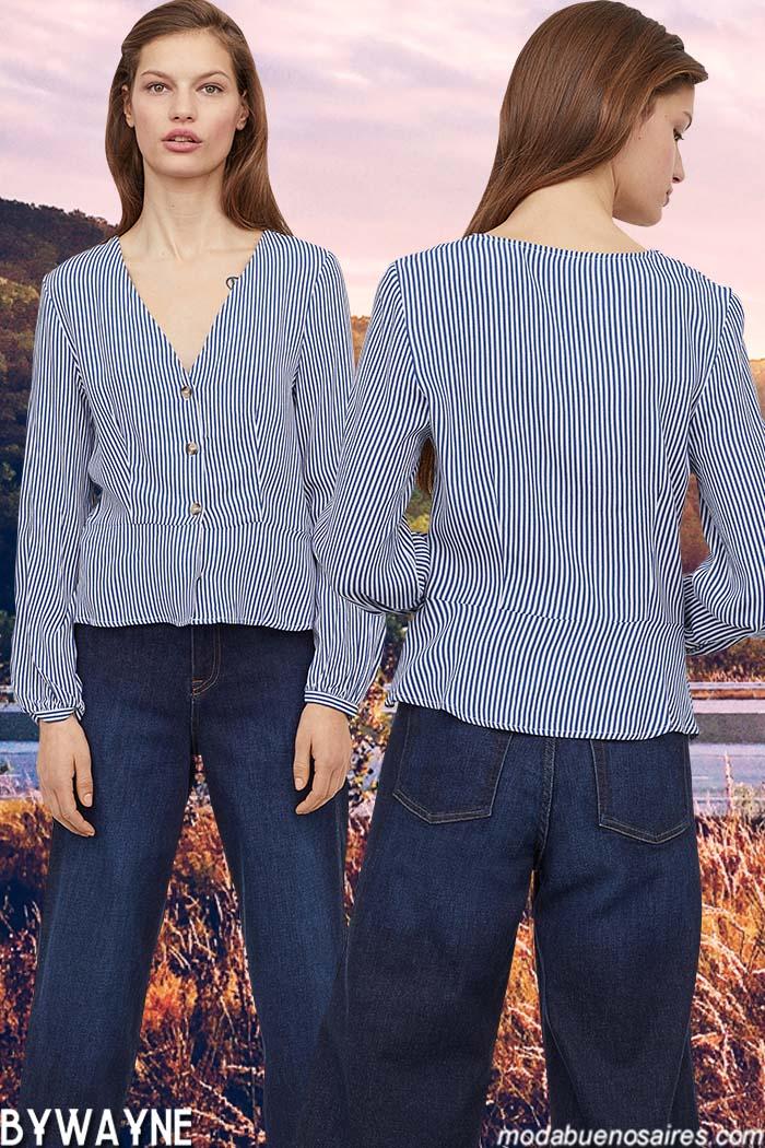 Camisas primavera verano 2020 mujer.