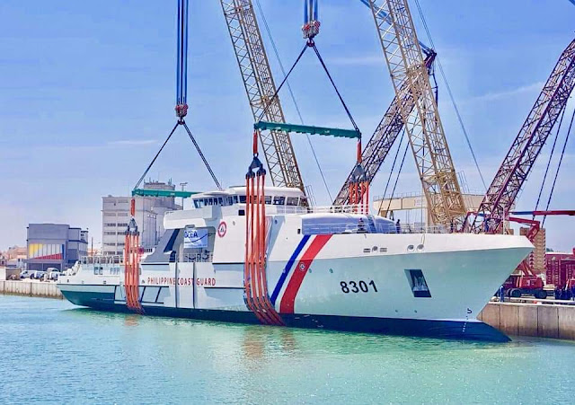 Philippines largest coast guard ship launched in France