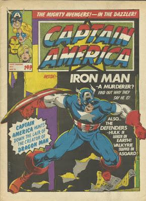 Captain America #4, Marvel UK