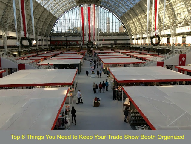 Top 6 Things You Need to Keep Your Trade Show Booth Organized