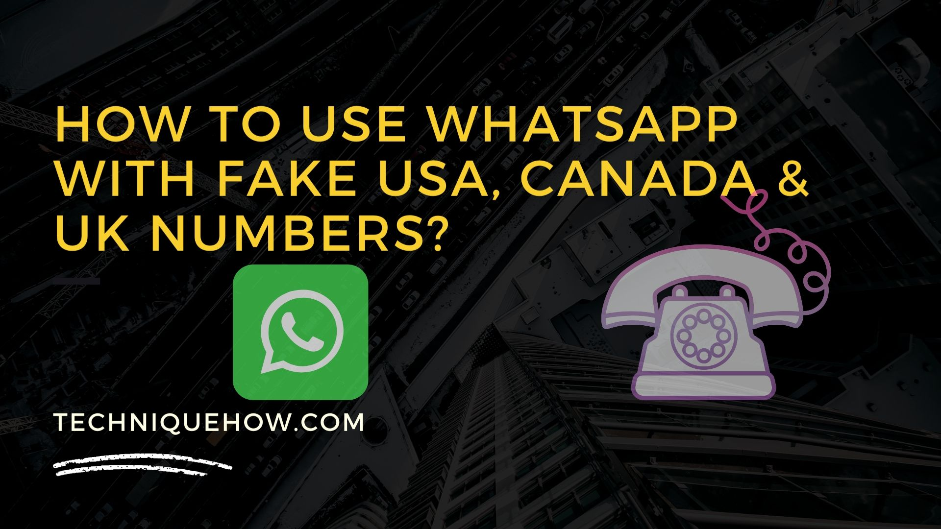 Use fake number for whatsapp verification