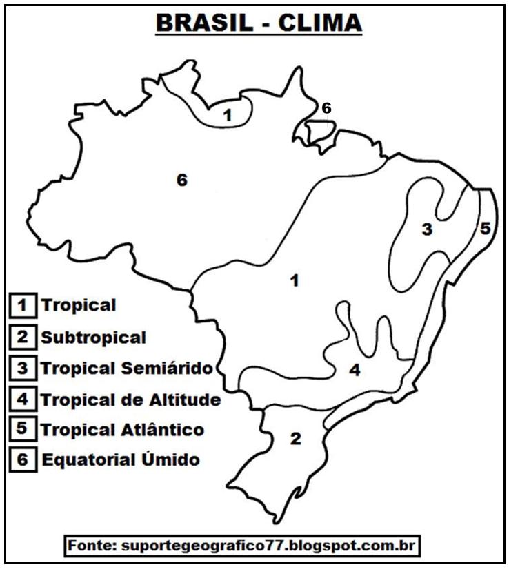 suporte geográfico atividades com mapas brasil aspectos fÍsicos