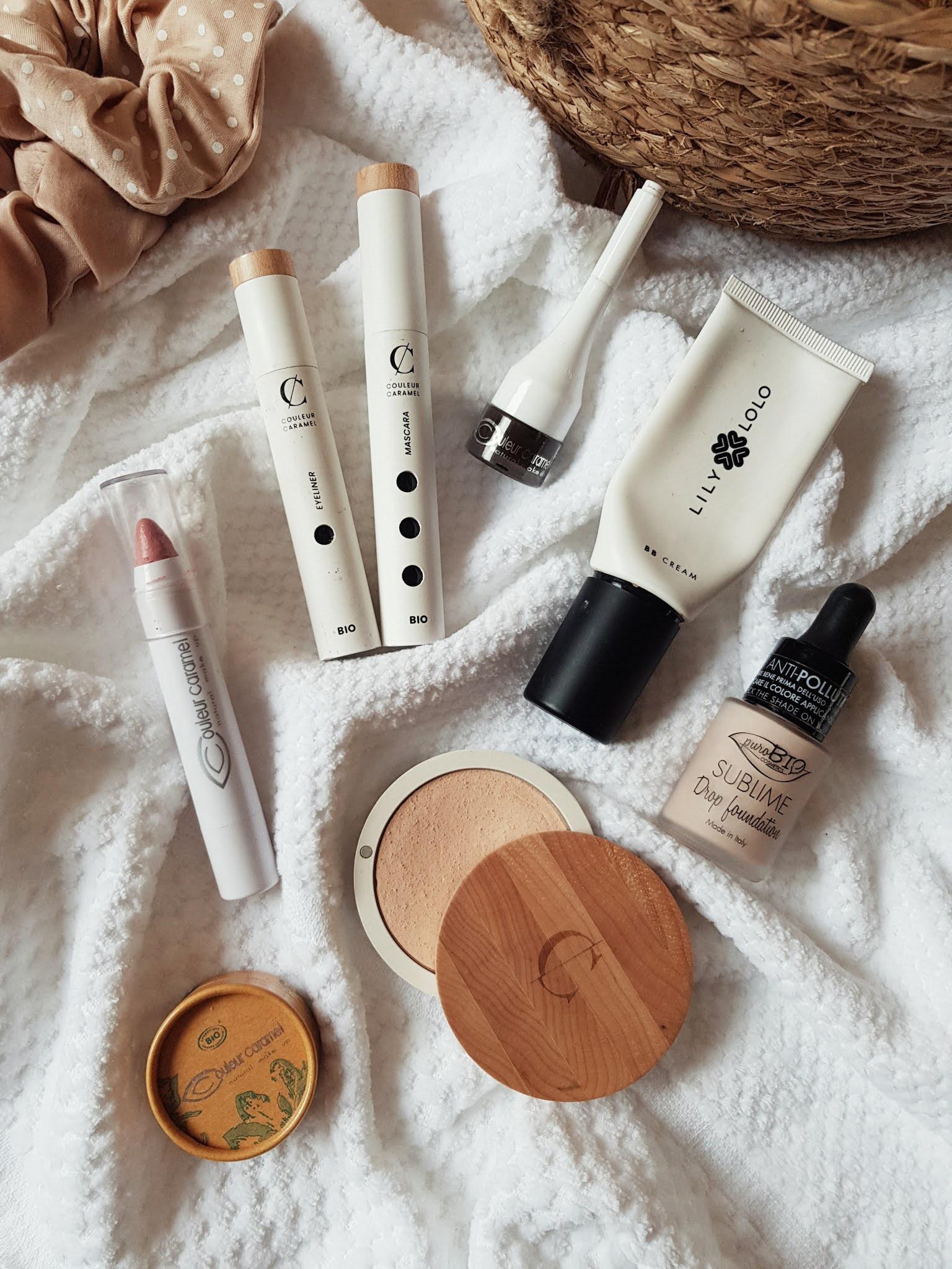 naturalne kosmetyki do makijażu, naturalna kolorówka, couleur caramel, lily lolo, purobio
