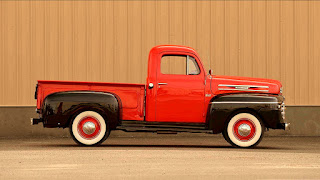 1950 Mercury M-47 Pickup Side Right