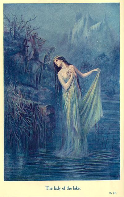 La dama del lago (The Lady of the Lake) de Speed Lancelot
