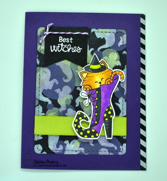 Best witches by Debbie features Witchy Newton, Bokeh, Ghosts, and Frames & Flags by Newton's Nook Designs; #newtonsnook